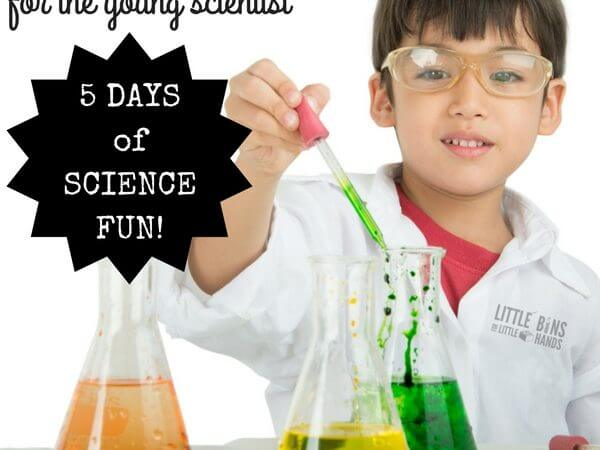 The Young Scientists Week Long Summer Science Camp