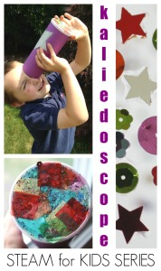 Simple Kaleidoscope Made With Pringles Can Steam for Kids Sight