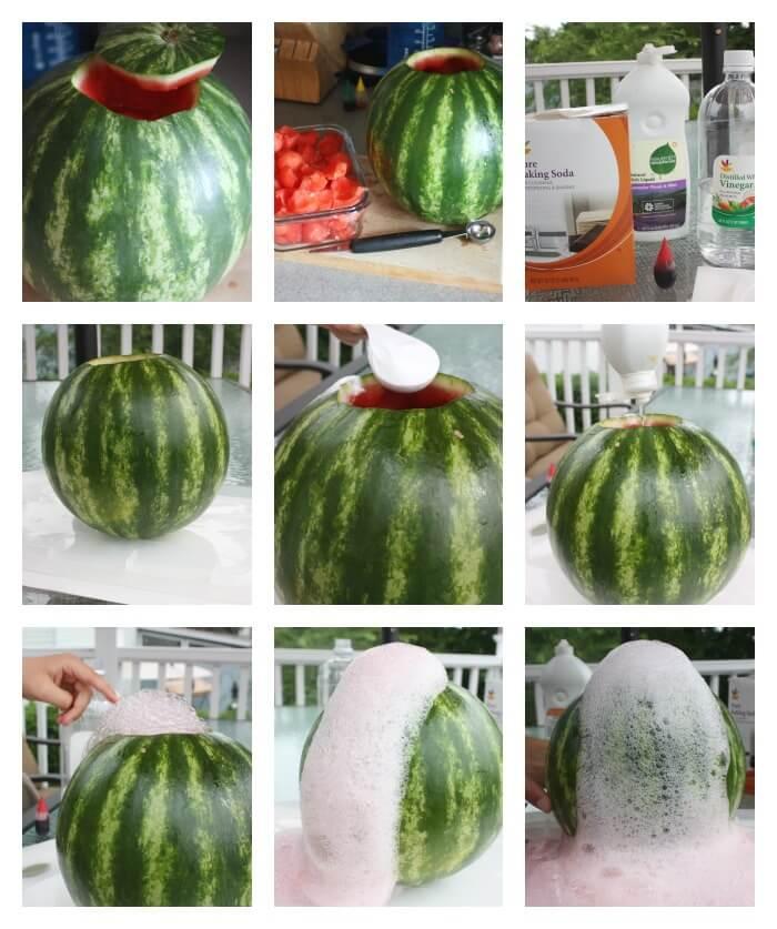 Watermelon Volcano Activity Set Up