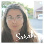 Sarah'a Picture for About Page and Welcome