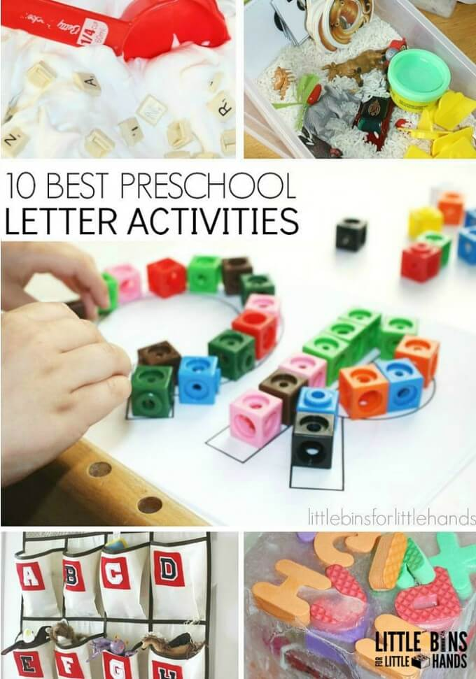 10 Best Preschool Letter Activities for Kids