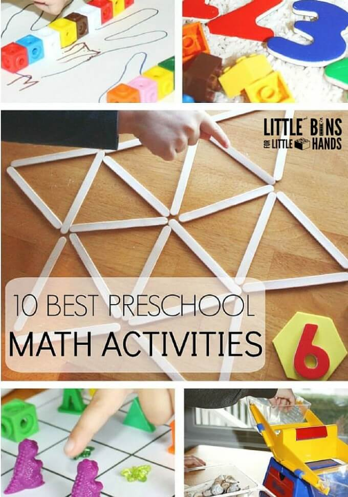 10 Best Preschool Math Activities