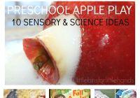 10 Preschool Apple Activities Science Experiments Sensory Play Fine Motor Skills Math