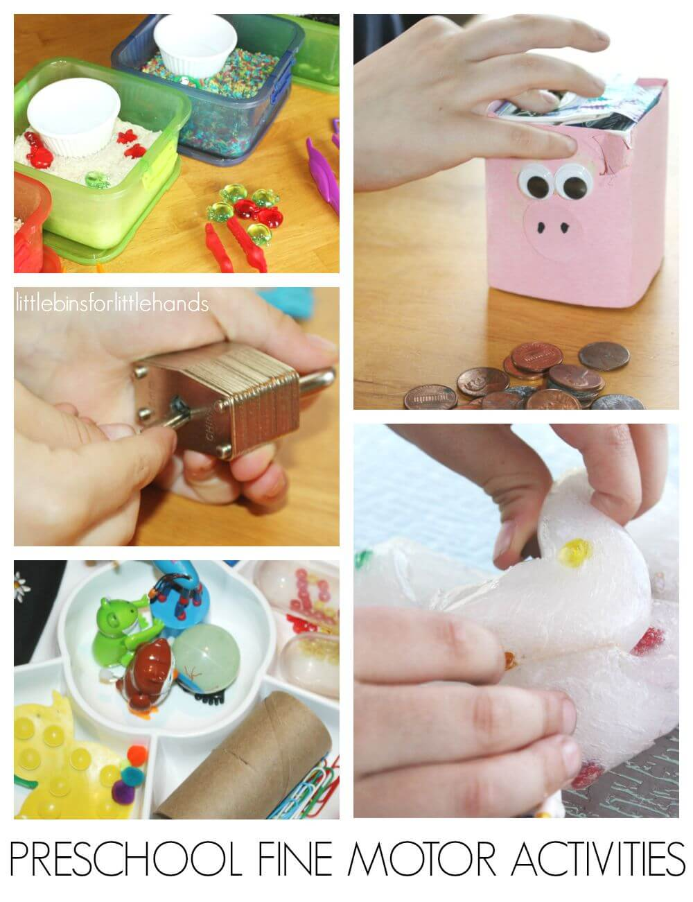 10 Preschool Fine Motor Activities Back to School Learning Activities for Fine Motor Skills