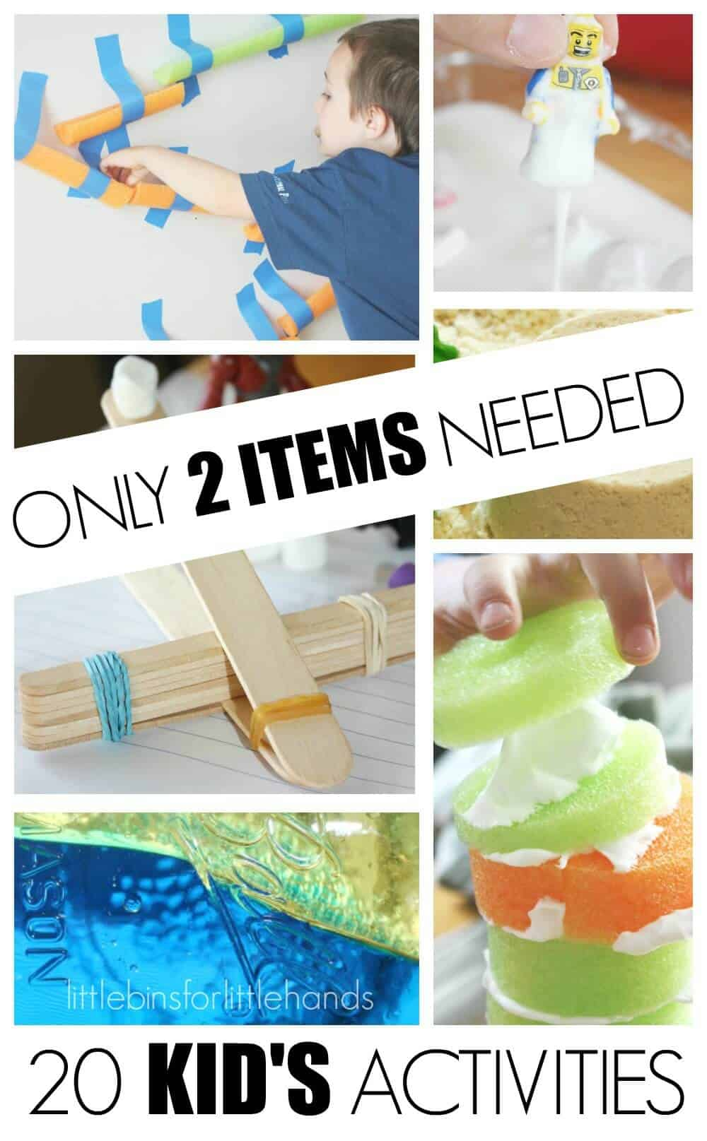 20 Kids Activities 2 Item Activities for Play