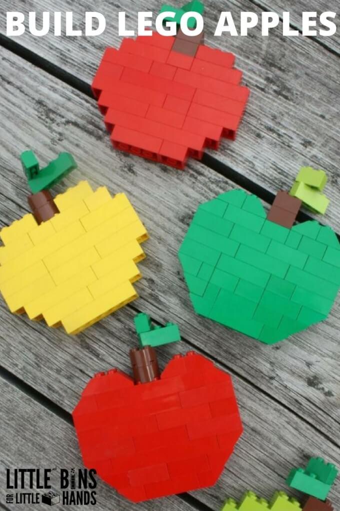 BUILD LEGO APPLES