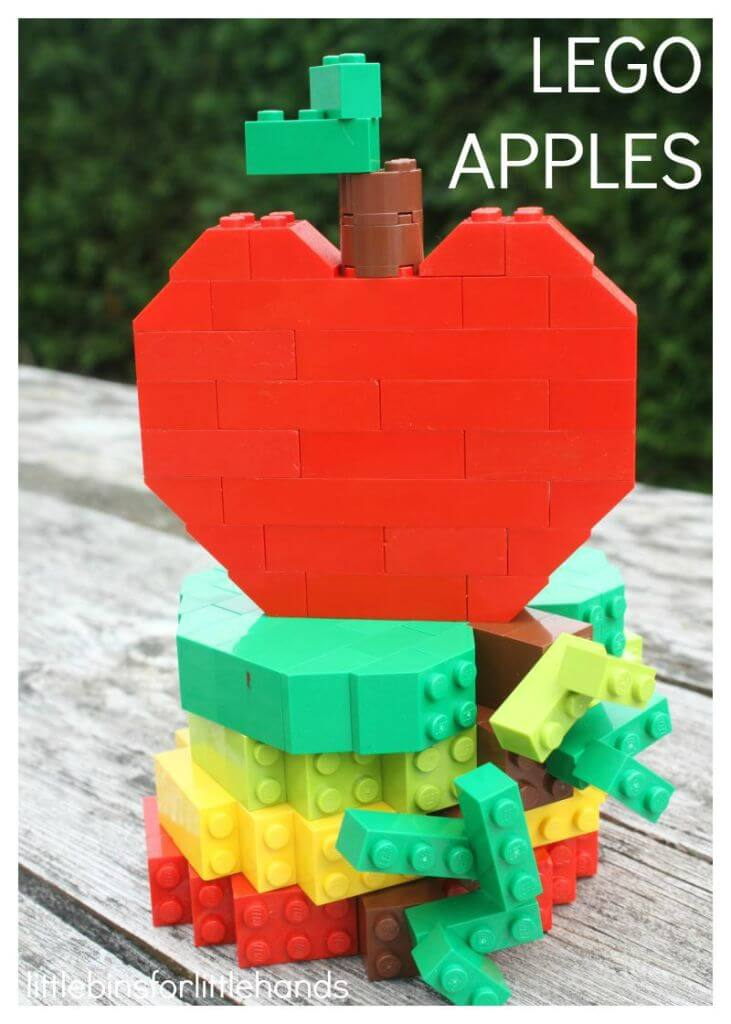 Build Lego Apples Fall Building Challenge