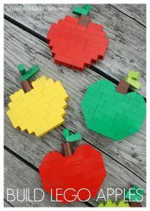 Build Lego Apples Fall Colors
