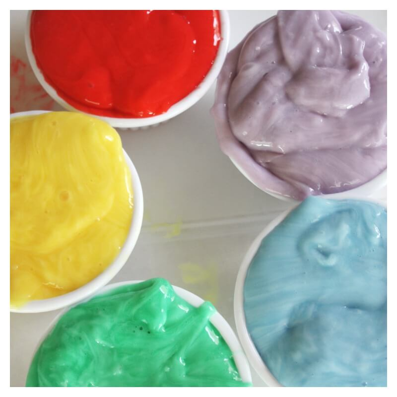 Emotions Activity with Colored Slime