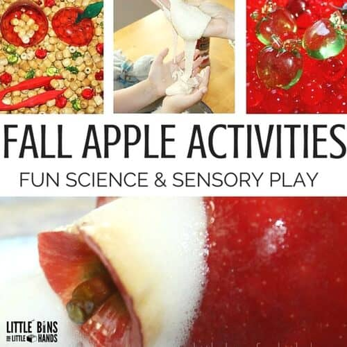 Fall Apple Activities for Preschool and Kindergarten