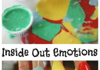 Inside Out Emotions Slime Activity