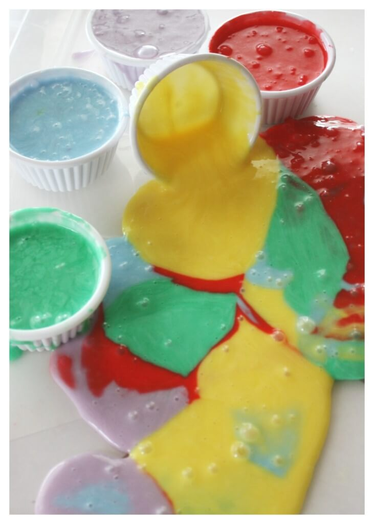 Inside Out Emotions Slime All Emotions Activity
