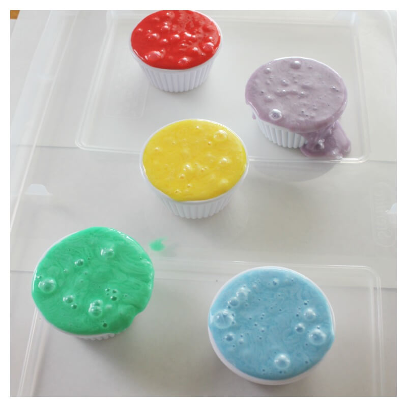 Inside Out Movie Slime About Emotions for Kids