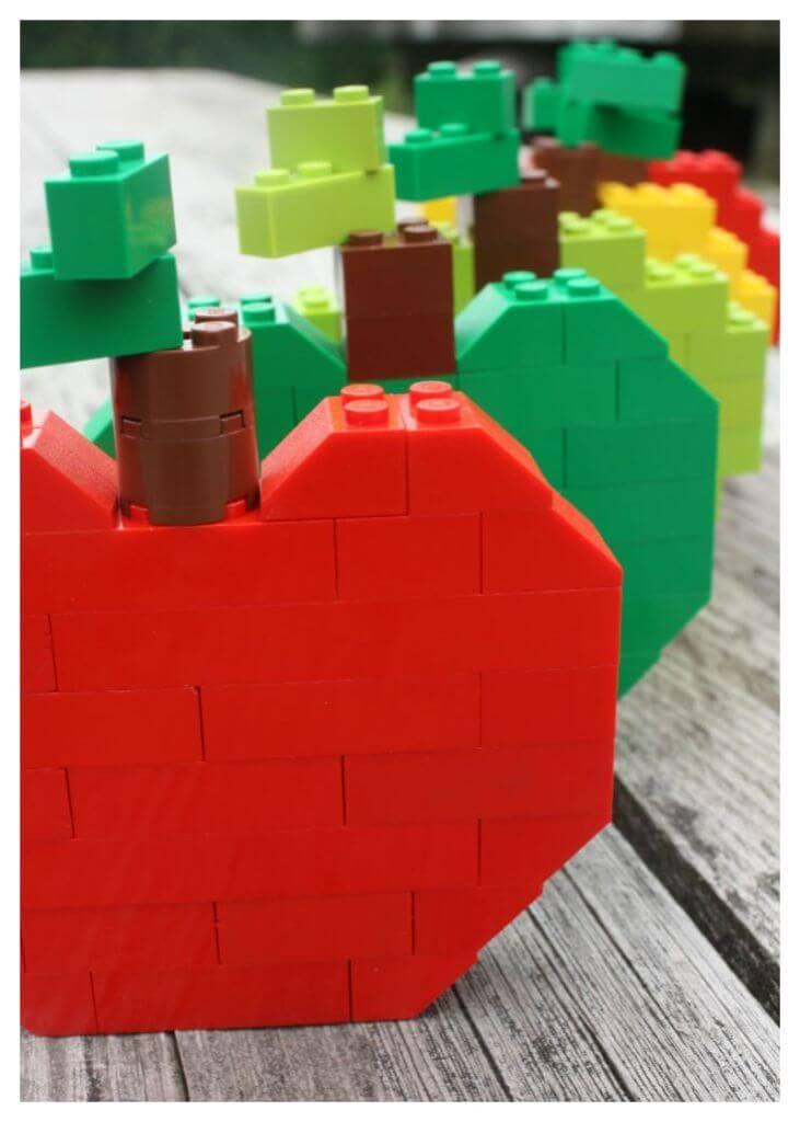 Lego Apple Building Idea