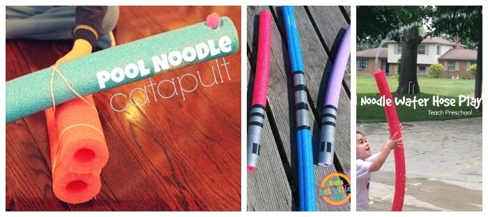 Pool Noodle Play Ideas Gross Motor