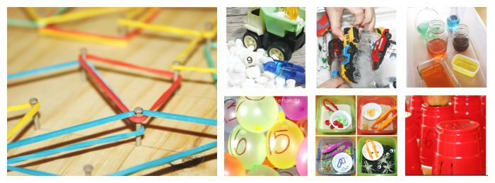 Preschool Math Activities Back To School Early Learning Ideas