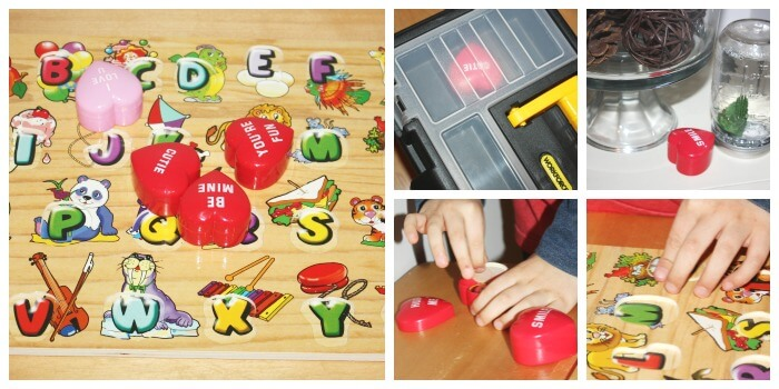 Puzzle Play Activity Puzzle Scavenger Hunt Around House Hidden Puzzle Pieces