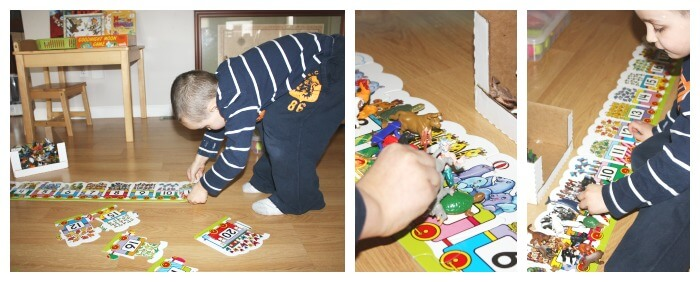 Puzzle Play Ideas Number Puzzle Counting Manipulative Activity