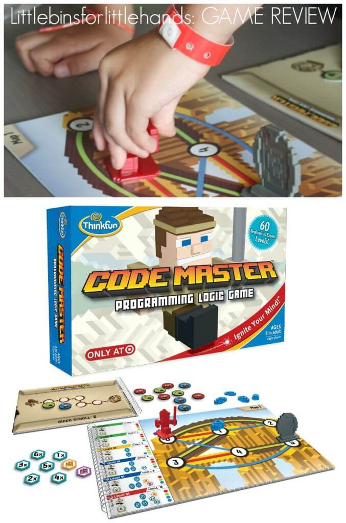 Code Master Coding Game for Kids Game Review STEM game for kids