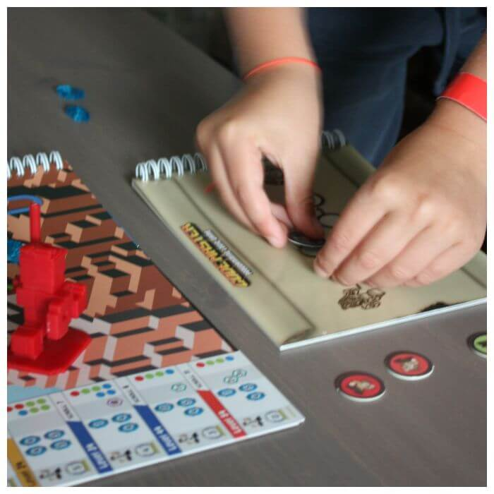 Code Master Coding Game for Kids Setting Up the Board Game