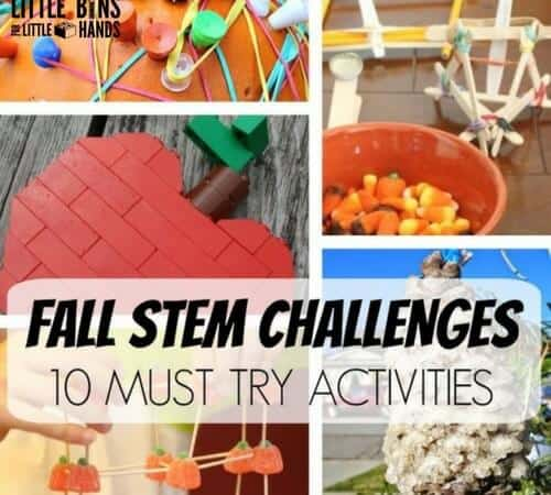 Must Try Fall Science Activities and STEM Challenges for Kids