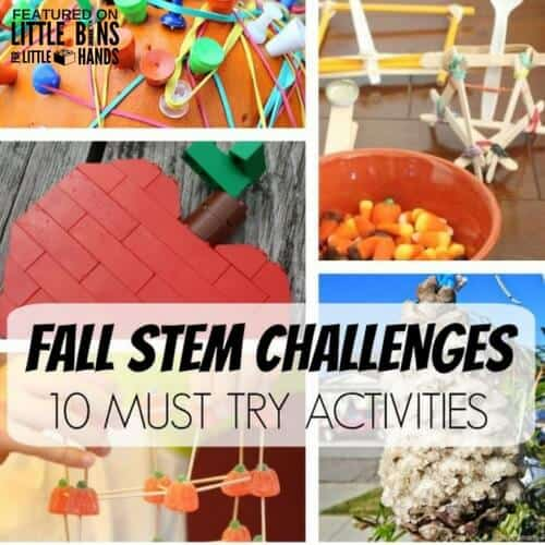 Fall Science Activities and Fall STEM Challenges For Kids