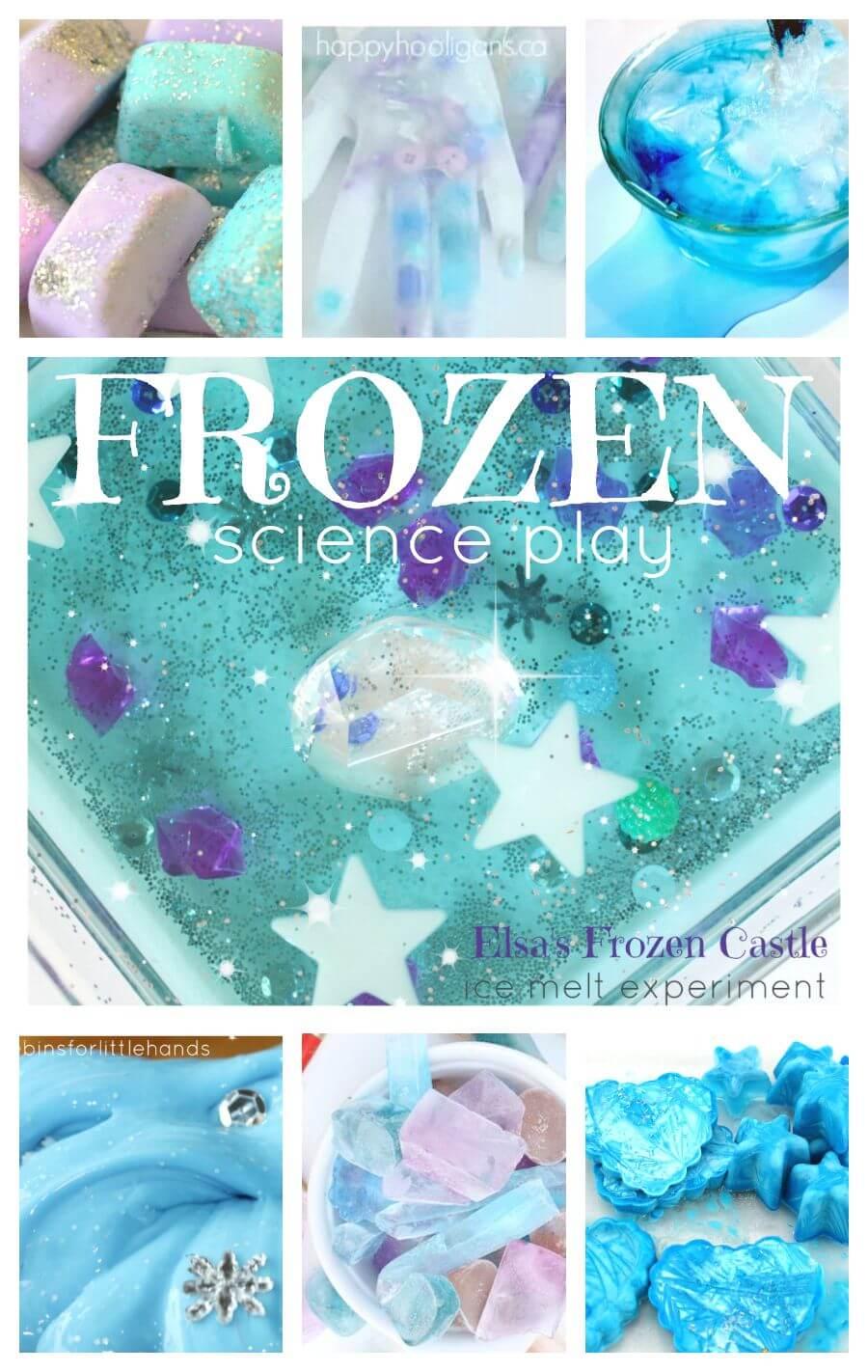 Frozen Activities Frozen Themed Science Ice Science