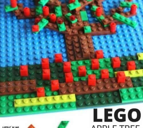 LEGO Apple Tree Mosaic STEAM Activity