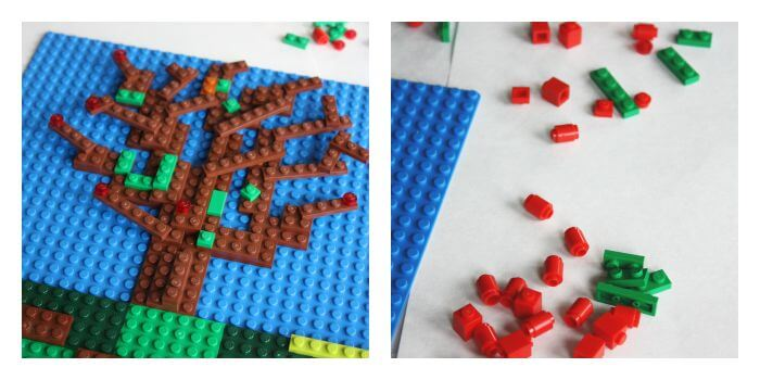 LEGO Apple Mosaic