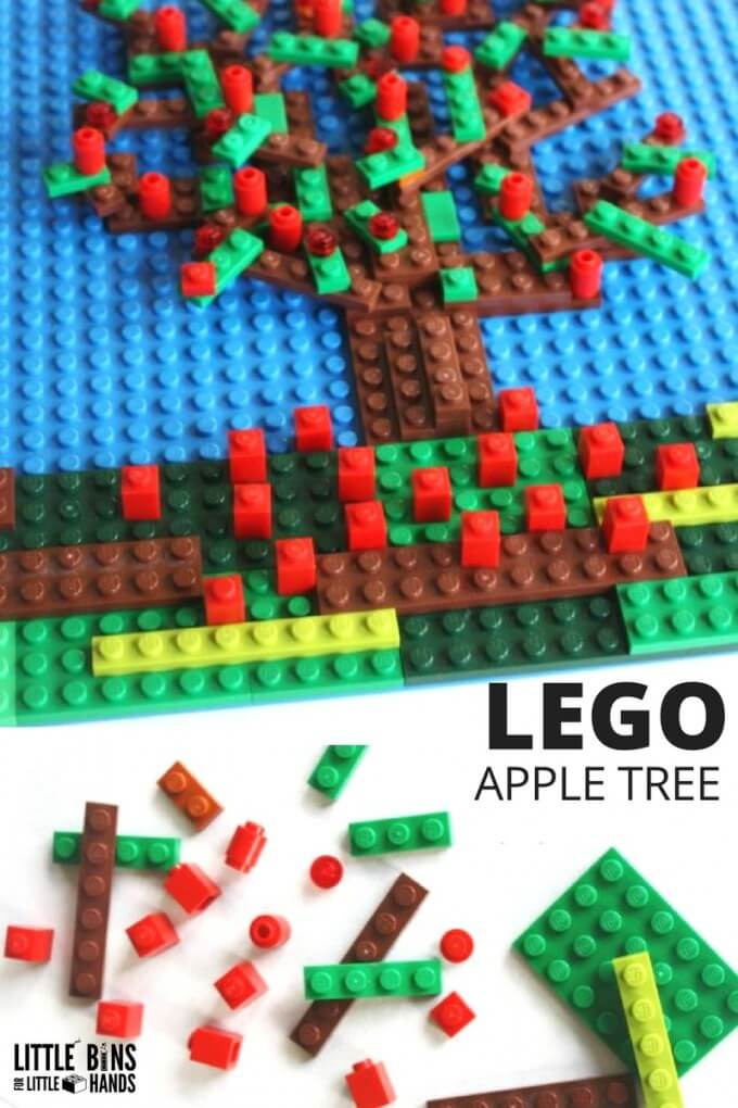 LEGO Apple Tree Mosaic