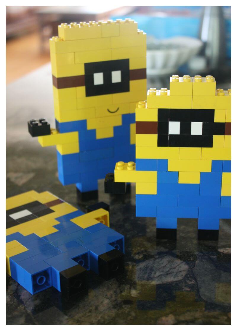 LEGO Minion Activity Basic Brick Building Idea