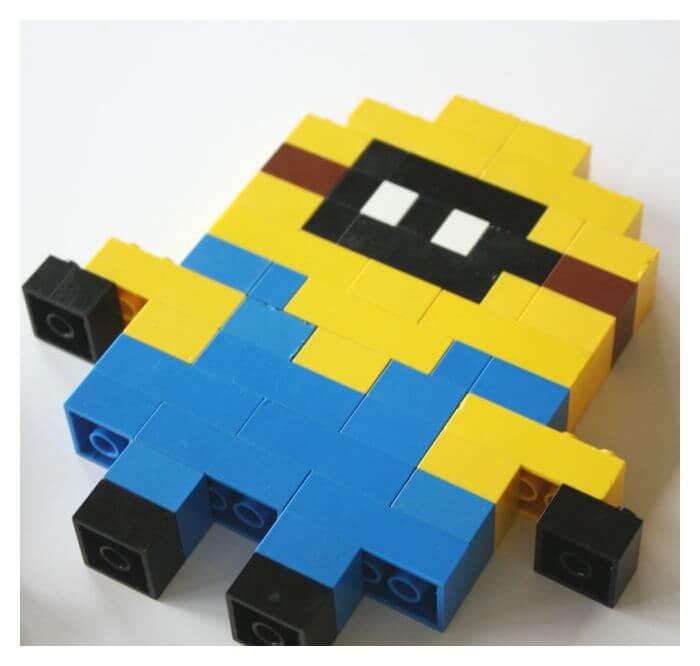 LEGO Minion Bob Building Activity