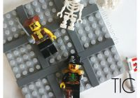 LEGO Tic Tac Toe Game Pirate Activity