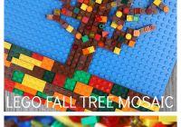 Lego Fall Apple Tree Mosaic STEAM Activity