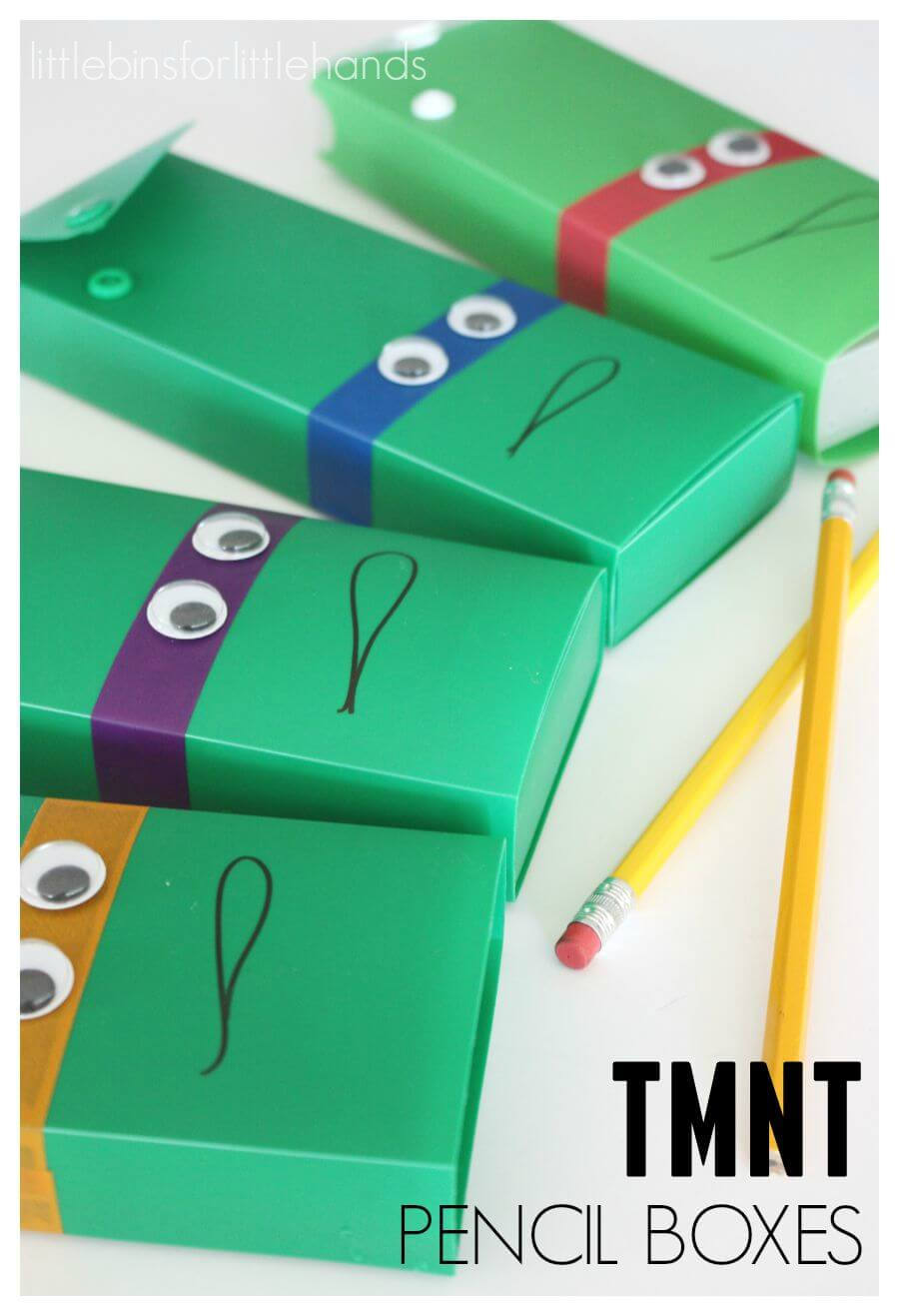 Teenage Mutant Ninja Turtle Pencil Boxes Cases Back To School TMNT Activity