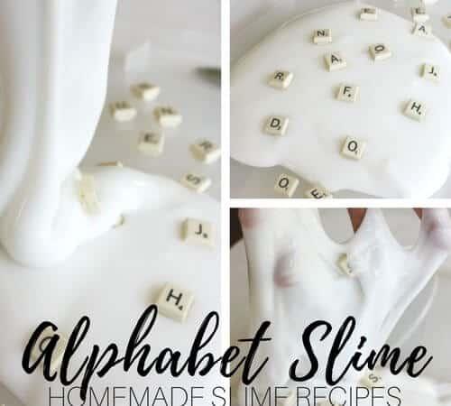Scrabble Tile Letter Slime