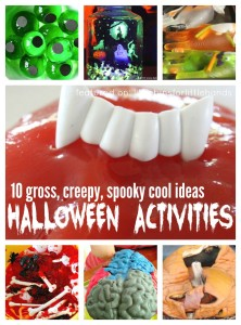 10 Gross Creepy Spooky halloween Activities and halloween Science Experiments