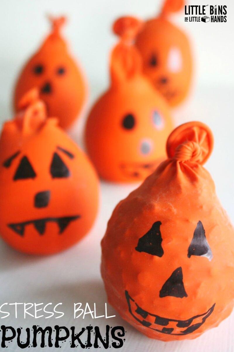halloween calm down balls relieving stress anxiety kids