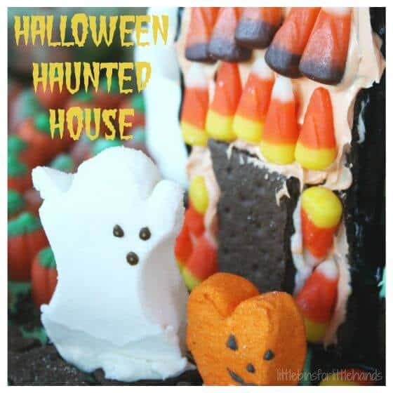 Halloween Haunted House Activity Graham Cracker House