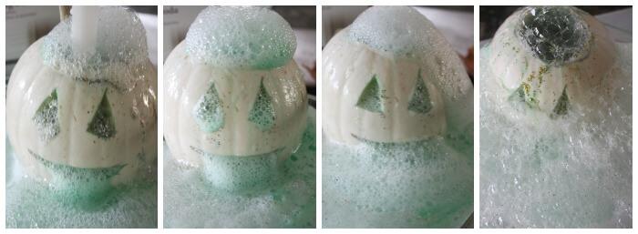 Halloween Pumpkin Volcano