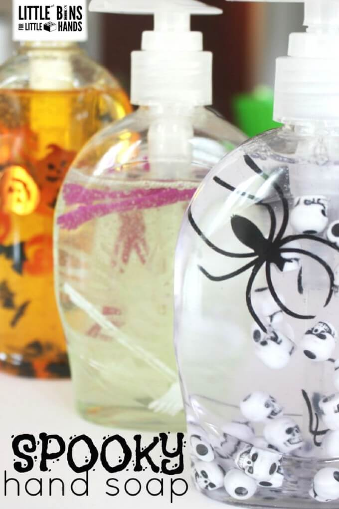 Halloween hand soap spooky soap for kids