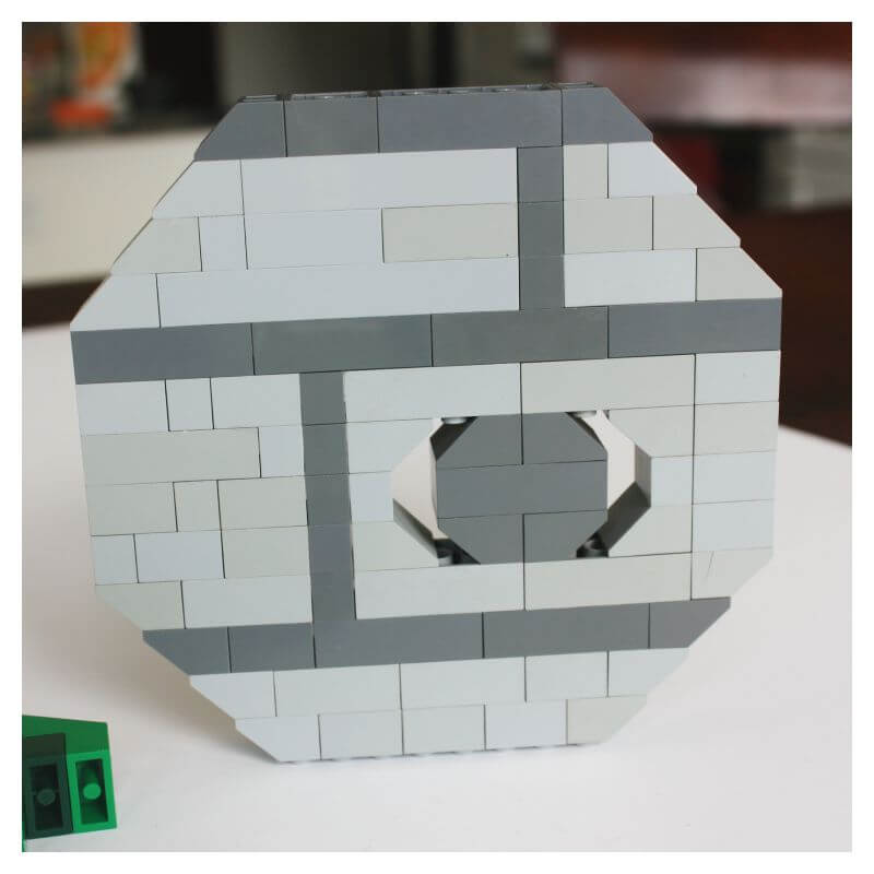 LEGO Death Star Wars Basic Brick Building