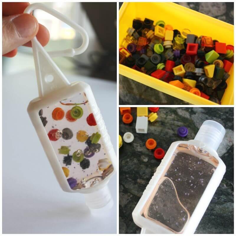 LEGO Hand Sanitizer Mini Travel Bottle School Backpack