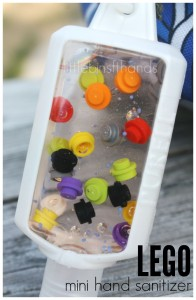 LEGO Hand Sanitizer Mini Travel Size Bottle