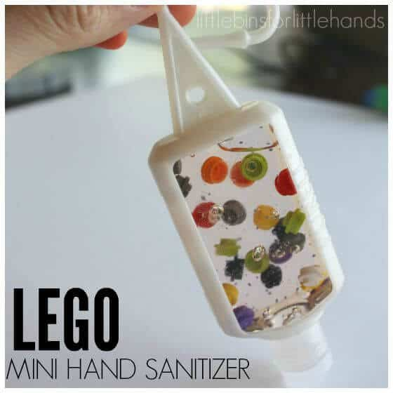 Mini Travel LEGO Hand Sanitizer