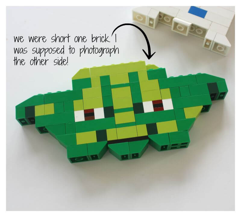 LEGO Star Wars Yoda Basic Bricks Building Idea