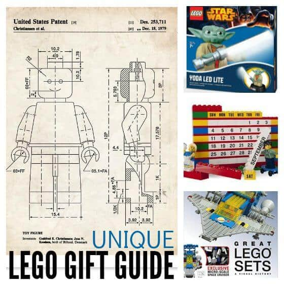 LEGO gifts Unique LEGO gift guide for kids and adults