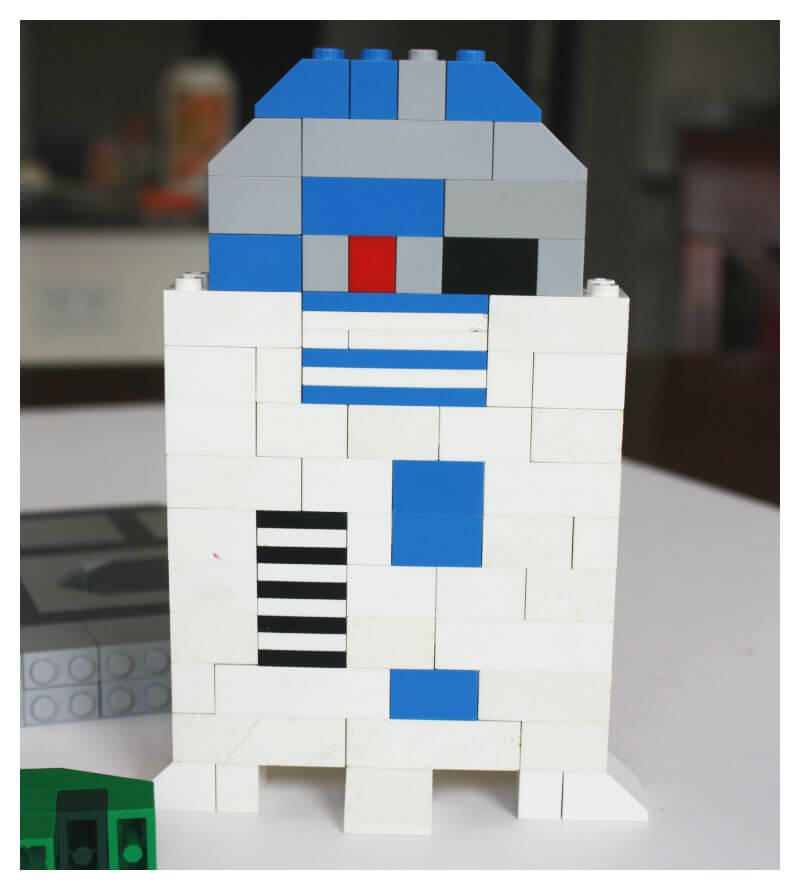 LEGO r2d2 Star Wars LEGO Building Idea