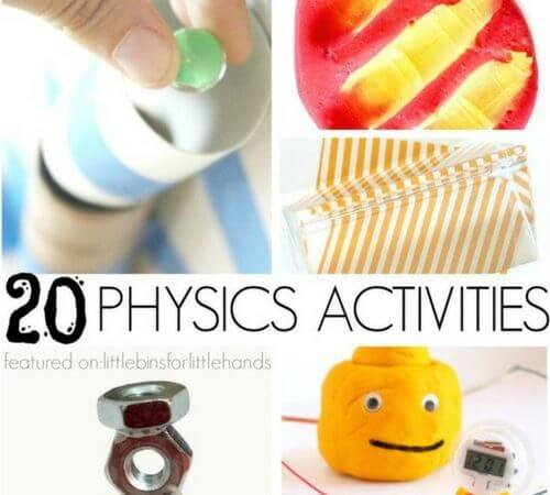 Simple Physics Activities and Experiments for Kids