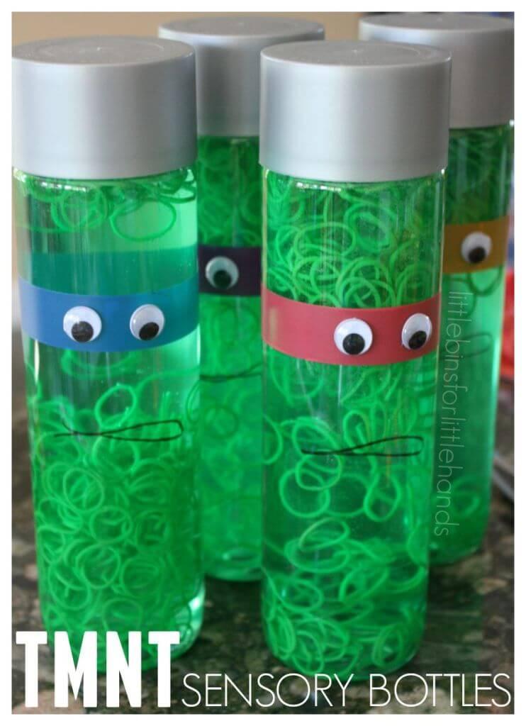 Ninja Turtle Slime Plastic Easter Egg Activity For Kids